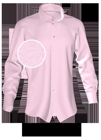 rosa Maßhemd