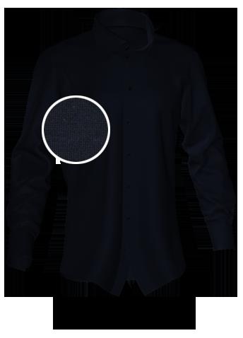 schwarzes Maßhemd