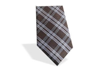 karierte Krawatte