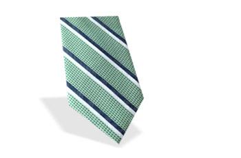 Krawatte gestreift grün