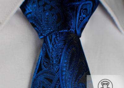 Paisley schwarzblau