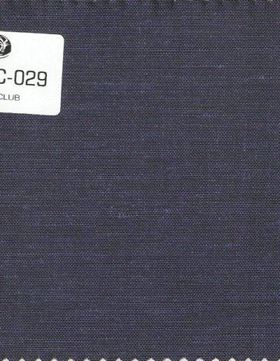 Leinen Club stoff dunkelblau