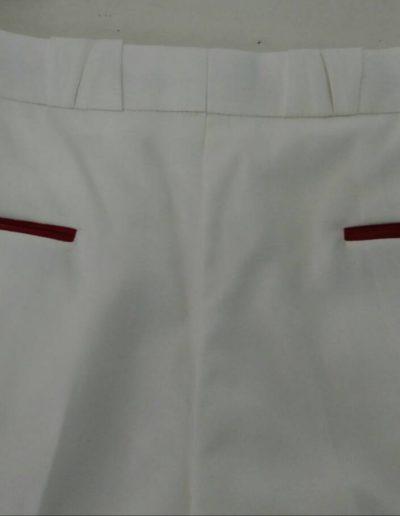 Business Line weiße Hose Schurwolle