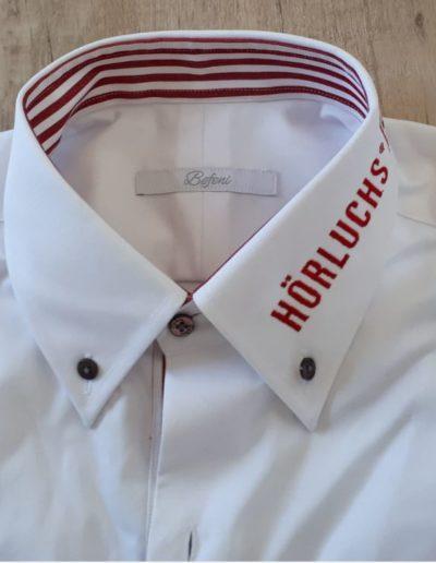 Easy White Hemd mit Logo Hörluchs