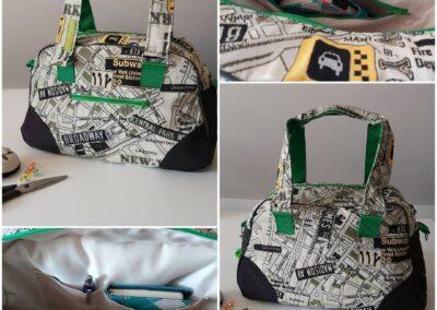 Handtasche retro recycle