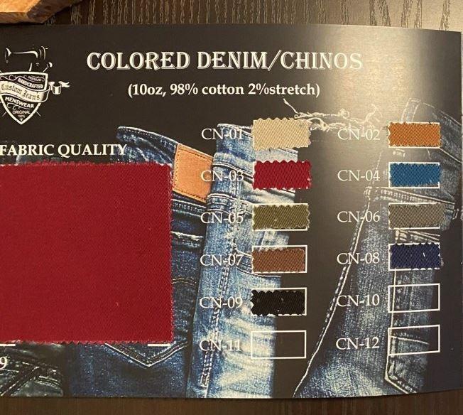 Jeansfarben